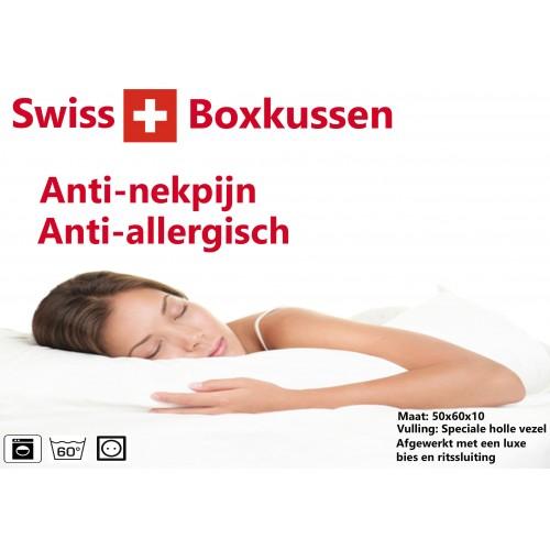 Swiss kussen for Anti nekpijn kussen