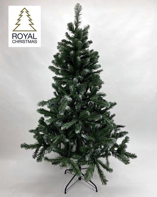 Kunstkerstboom Dakota - licht besneeuw - 180 cm   Royal Christmas®