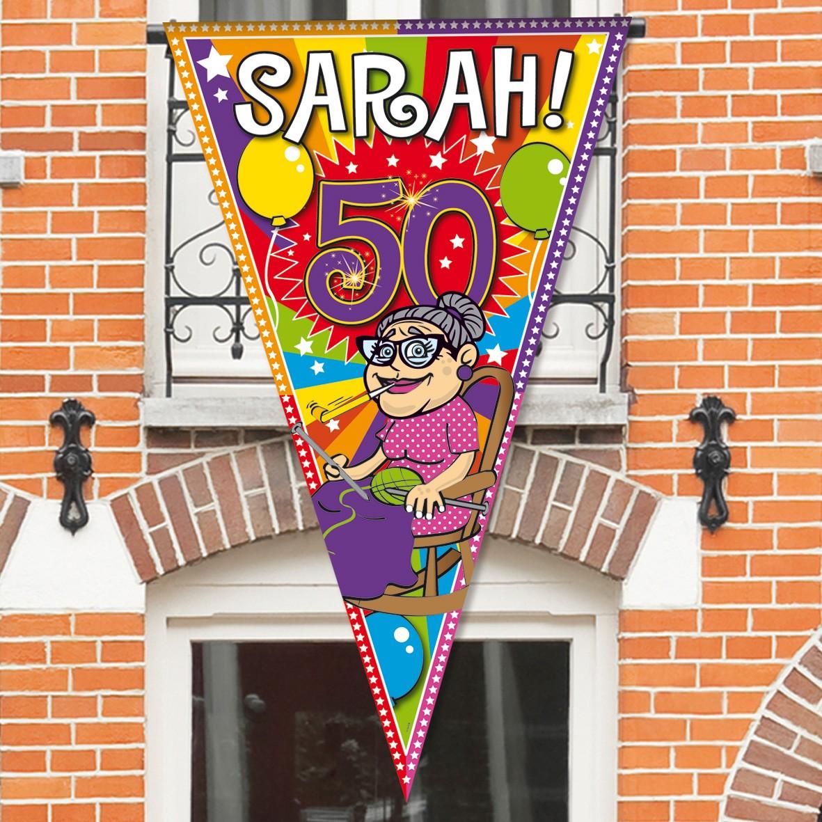 Sarah Mega Vlag