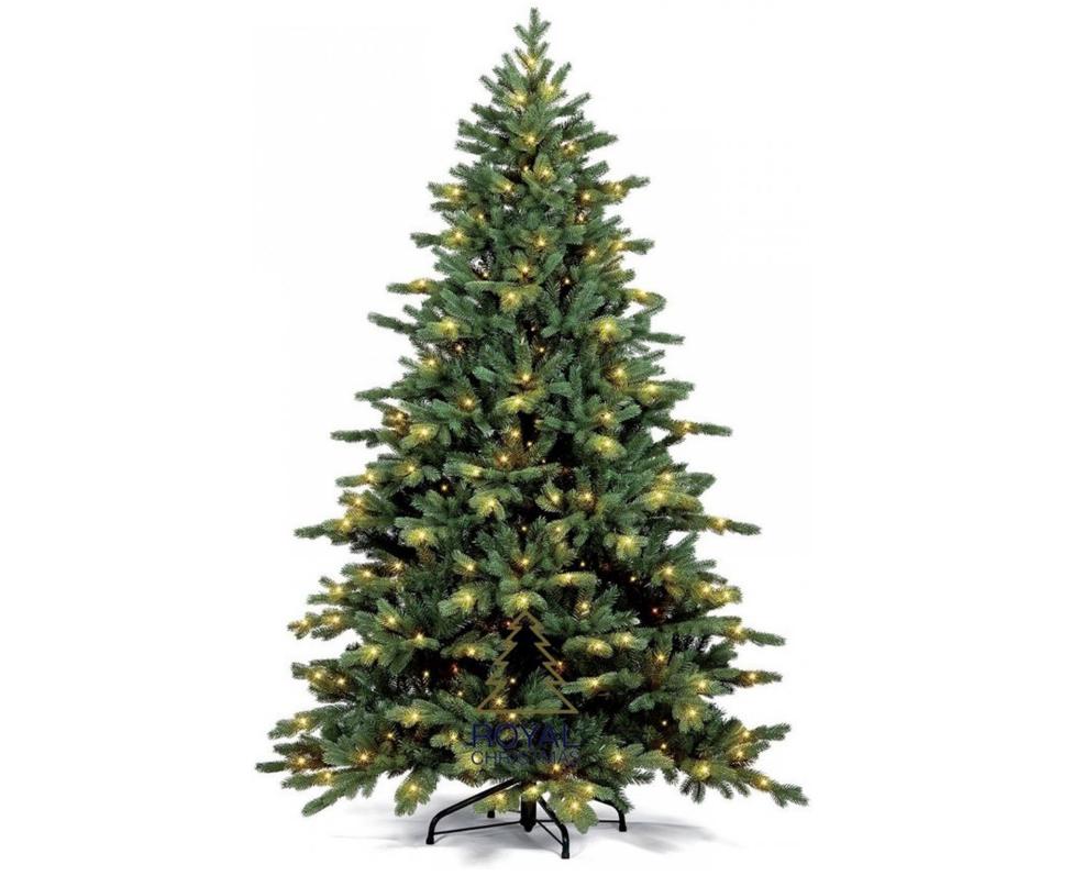 Kunstkerstboom Spitsbergen 240 cm inclusief 600 LED's | Royal Christmas
