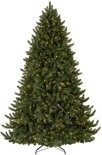 Kunstkerstboom Washington Promo - Lengte 180 cm - met 250 warm LED verlichting - Kleur Groen - 944 Takken