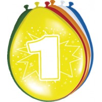 Ballonnen 1 jaar