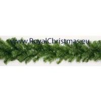 Dakota Guirlande groen - Lengte 25 meter - Diameter 20 cm - Brandvertragend - 1500 takken - Royal Christmas - Kerst Slinger