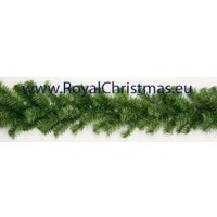 Dakota Guirlande groen - Lengte 25 meter - Diameter 25 cm - Brandvertragend - 1000 takken - Kerst Slinger - Royal Christmas