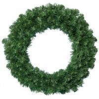 6x Dakota krans groen - Diameter 60 cm - Dikte 12 cm - Kerst krans - Royal Christmas