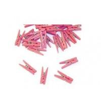 mini wasknijpers roze