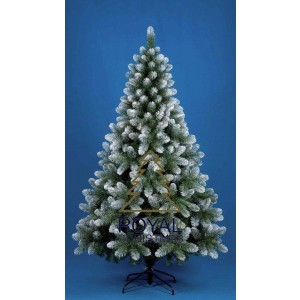 Kunstkerstboom Dakota - licht besneeuw - 210 cm | Royal Christmas®
