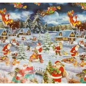 Kerst Tafelzeil - 200x140 cm