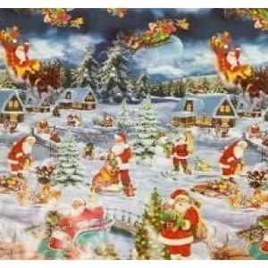 Kerst Tafelzeil - 250x140 cm