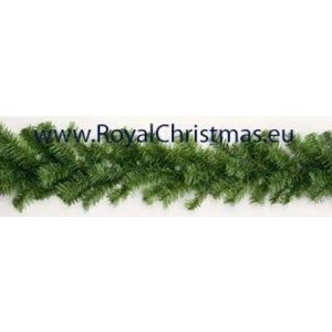Dakota Guirlande groen - Lengte 10 m - Diameter 30 cm - Brand vertragend - Kerst Slinger - Royal Christmas