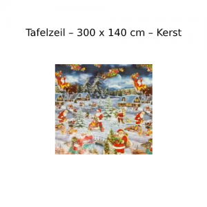 Kerst Tafelzeil - 300x140 cm