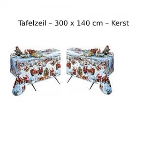 Tafelzeil - 300x140 cm - Kerst