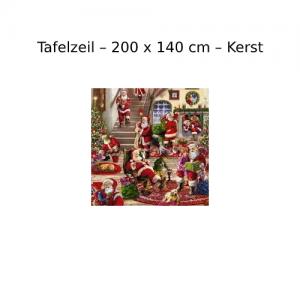 Tafelzeil 200 x 140 cm - Kerst