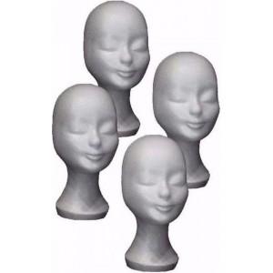 Piepschuim hoofden