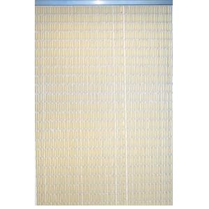 Lesli Vliegengordijn PVC Buisjes Beige 90x220