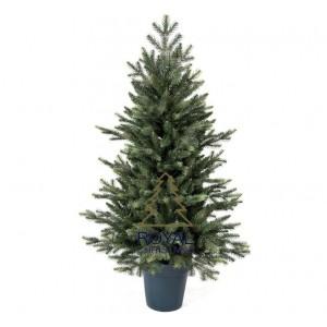 Kleine Kunstkerstboom in pot 105 cm met LED